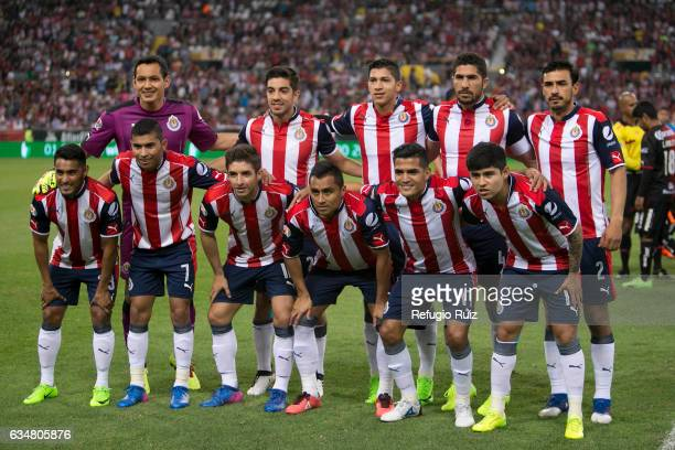 Players of Chivas pose for photos prior the 6th round match between Atlas and Chivas as part of the Torneo Clausura 2017 Liga MX at Jalisco Stadium...
