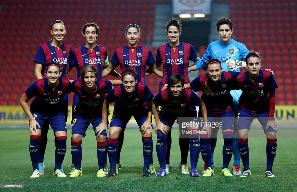 Slavia prague v fc barcelona uefa women 39 s champions league getty images - Forlady barcelona ...