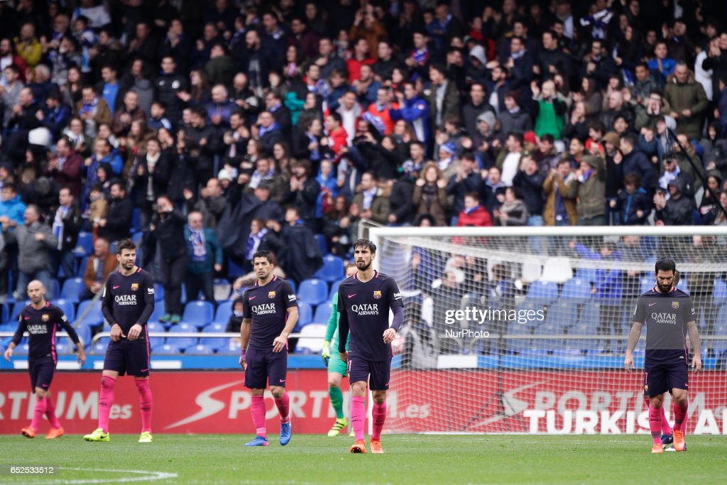 Deportivo de La Coruna v FC Barcelona - La Liga : News Photo