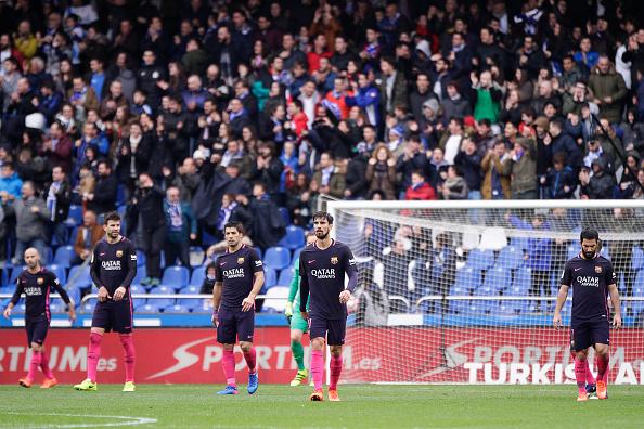 Deportivo de La Coruna v FC Barcelona - La Liga : News Photo