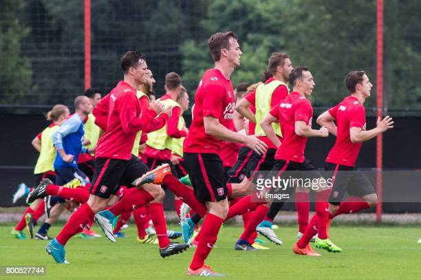 players of FC Twenteduring a training session at Trainingscentrum Hengelo on June 24 2017 in Hengelo The Netherlands