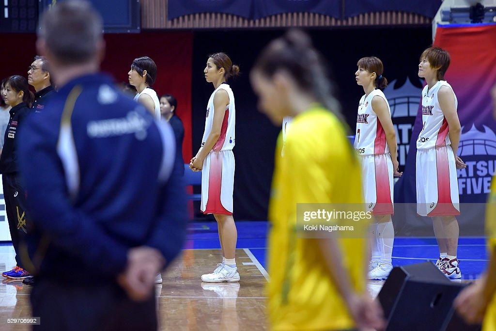 Japan v Australia - Women's Basketball International ...