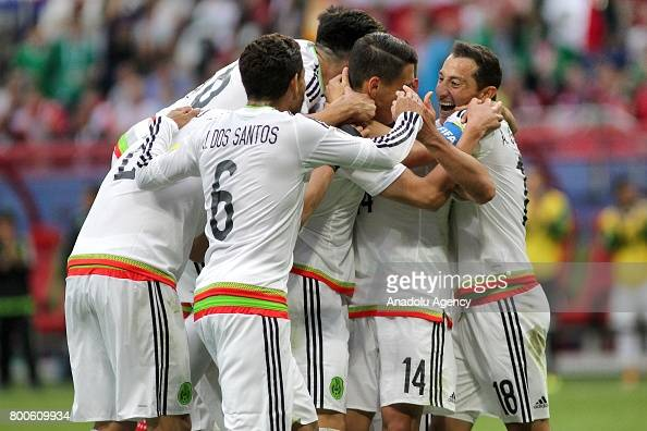 Mexico vs Russia - FIFA Confederations Cup 2017 : News Photo