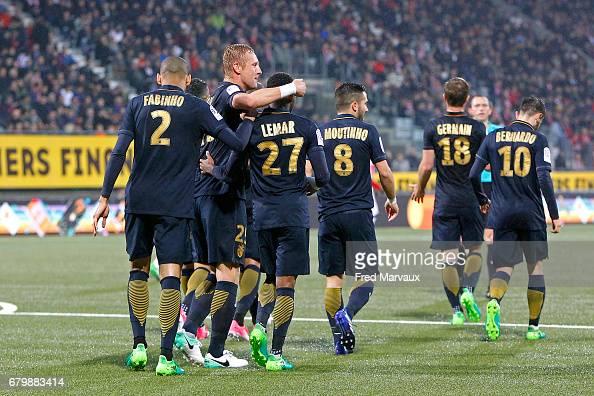 AS Nancy-Lorraine v AS Monaco - Ligue 1 : News Photo