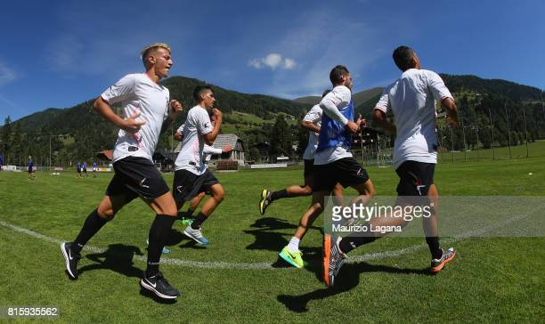 Players of Palermo during the PreSeason Training Camp on July 17 2017 in Bad Kleinkirchheim Austria
