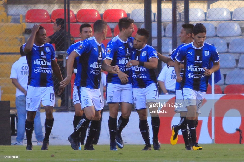 Queretaro v Pumas UNAM - Torneo Apertura 2017 Liga MX