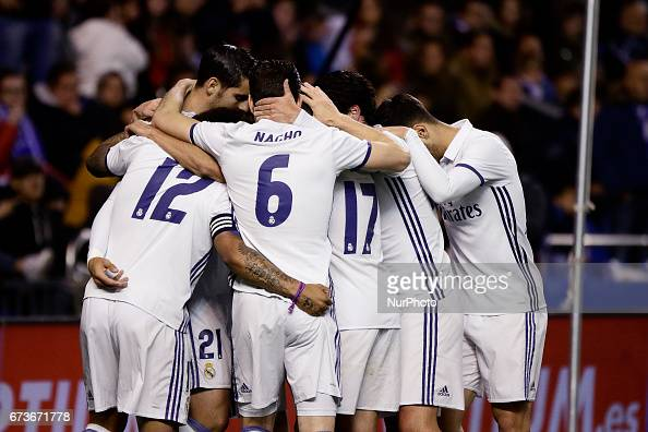Deportivo de La Coruna v Real Madrid CF - La Liga : News Photo