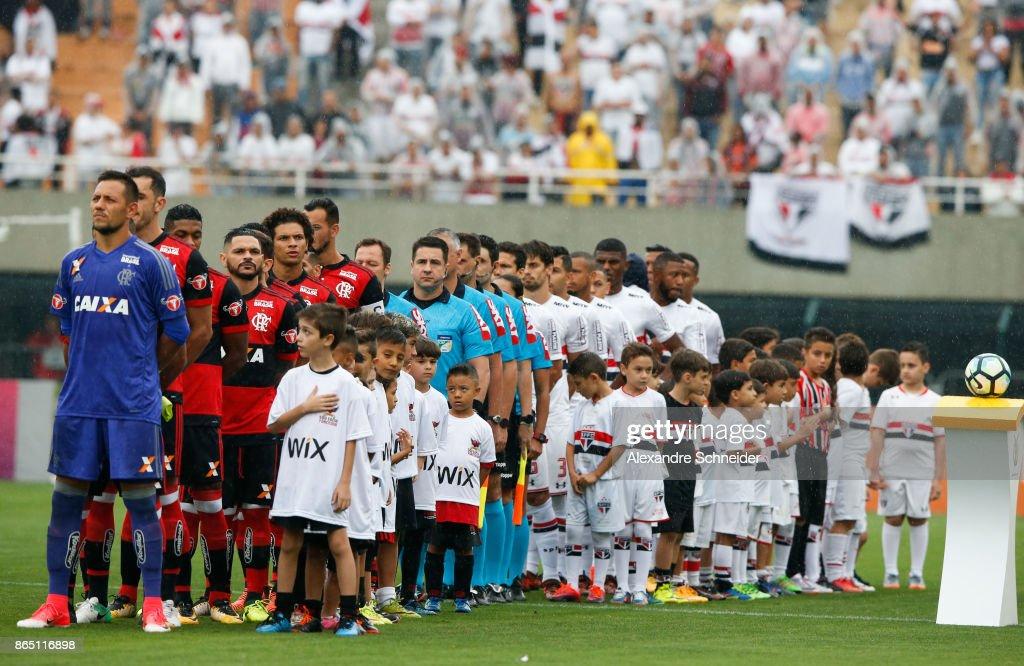 Sao Paulo v Flamengo - Brasileirao Series A 2017