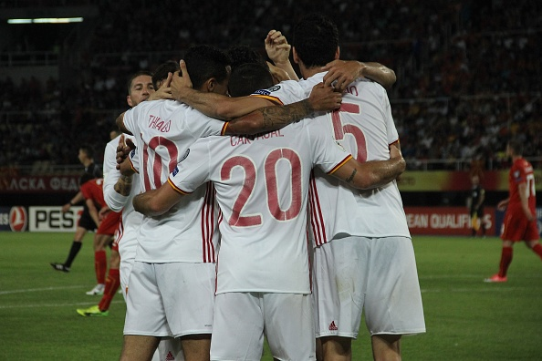 Macedonia v Spain - FIFA 2018 World Cup Qualifiers : News Photo