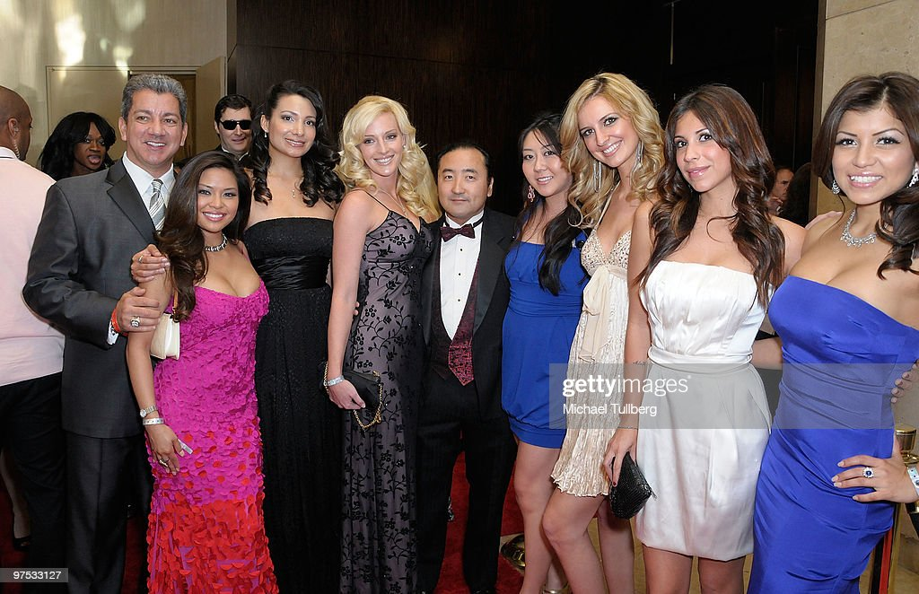Players of the International Poker Players Association arrive at the 11th Annual Children Uniting Nations Oscar Celebration, held at the Beverly Hilton Hotel on March 7, 2010 in Beverly Hills, California.