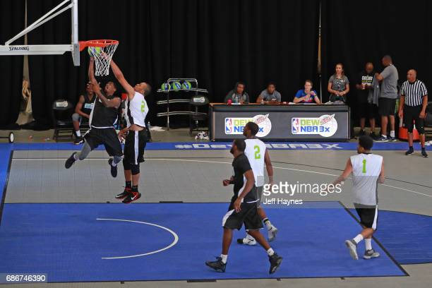 Players participate in the Mountain Dew NBA 3x3 tournament on May 13 2017 in Chicago Illinois NOTE TO USER User expressly acknowledges and agrees...