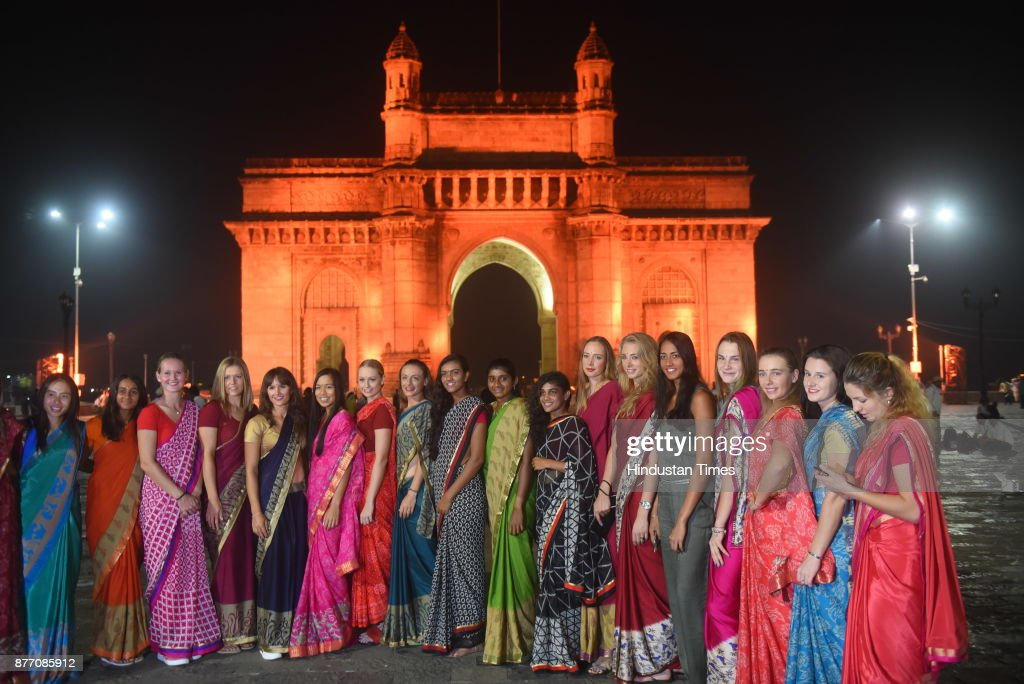 L&T Mumbai WTA Open Tennis Tournament Players Share Indian Moment At Gateway Of India