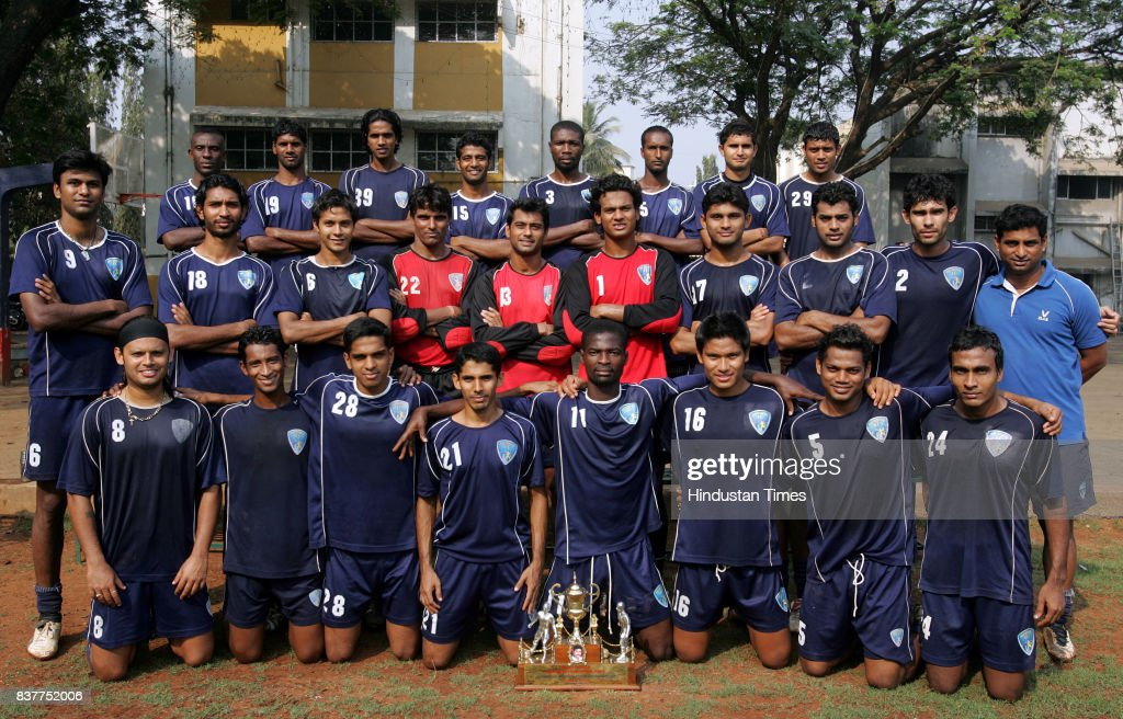 FC players posing for a photo at Don Bosco.