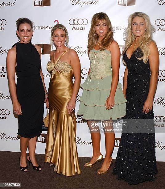 LPGA players Stephanie Louden Cristie Kerr Paula Creamer and Natalie Gulbis