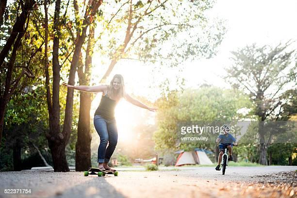playful camping