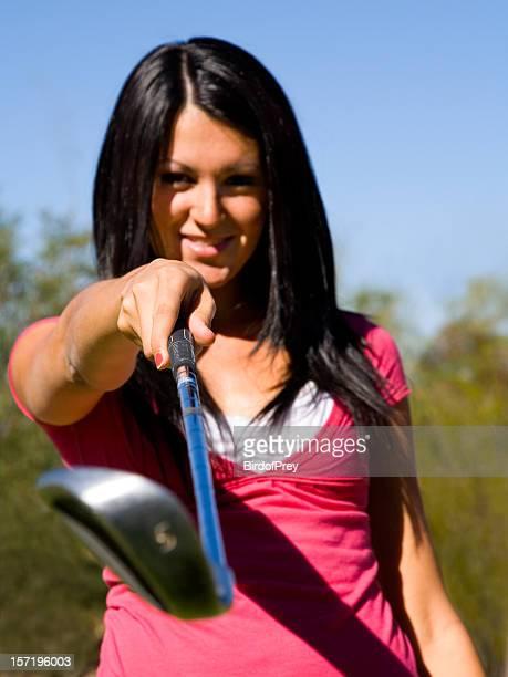 Verspielte-Golfspieler