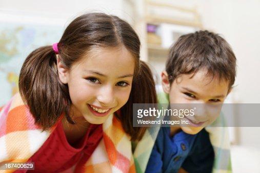 Playful kids : Stock Photo
