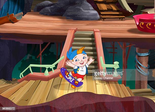 PIRATES Playhouse Disney's 'Jake and the Never Land Pirates' is an interactive 2D and CG animated series for preschoolers and parents featuring the...