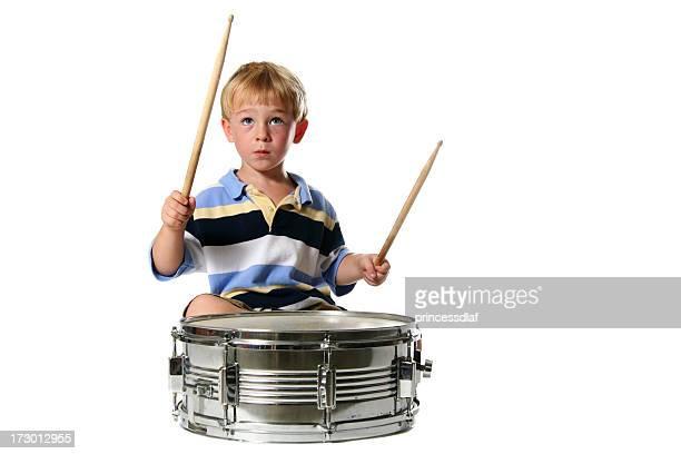 Jouant de tambour