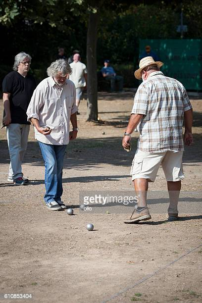 Playing Boules - Petanque