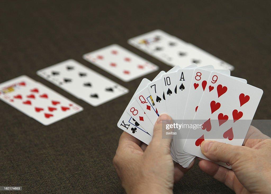 Playing bridge 3