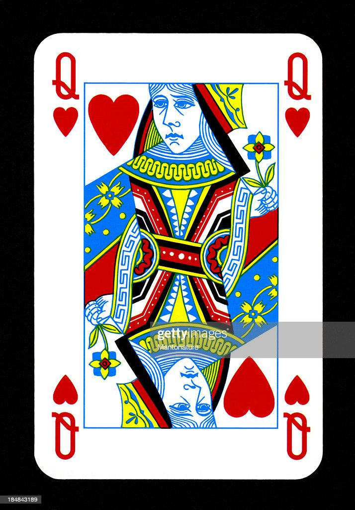 Playing Card: Queen of Hearts