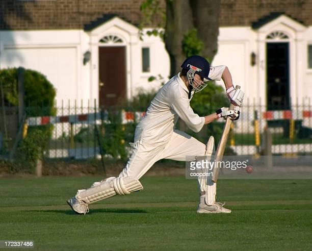 Spielen cricket -