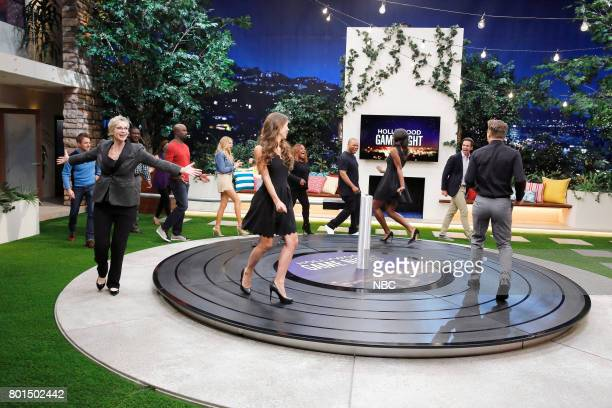 NIGHT 'Playing Hardwick to Get' Episode 503 Pictured Sherri Shepherd David Walton Xzibit Charlotte McKinney Mike Colter and Chris Hardwick appear on...
