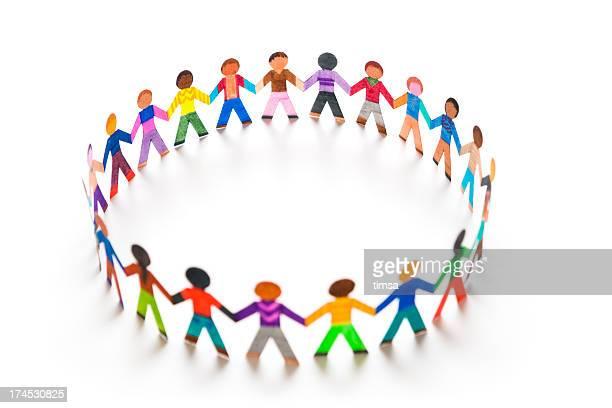 Playing in a big circle