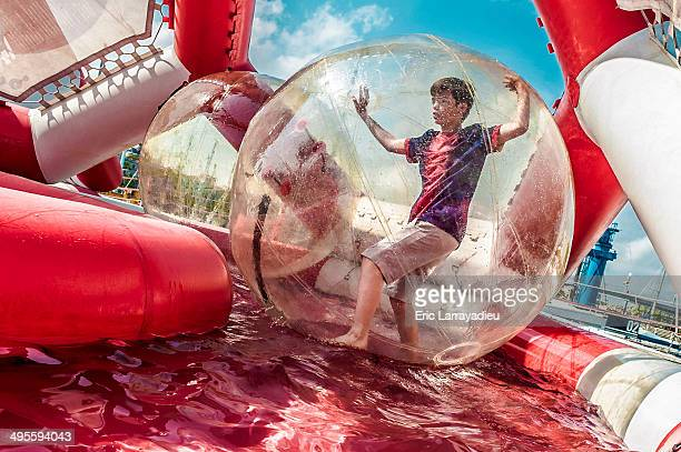 Playing in a bubble
