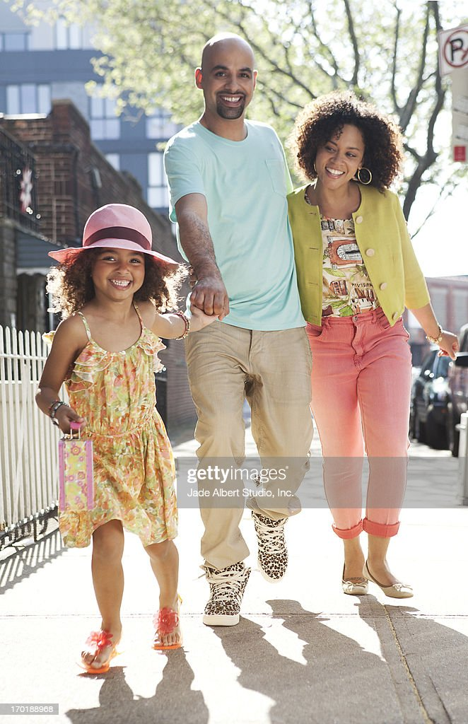 Playing in Brooklyn : Stock Photo