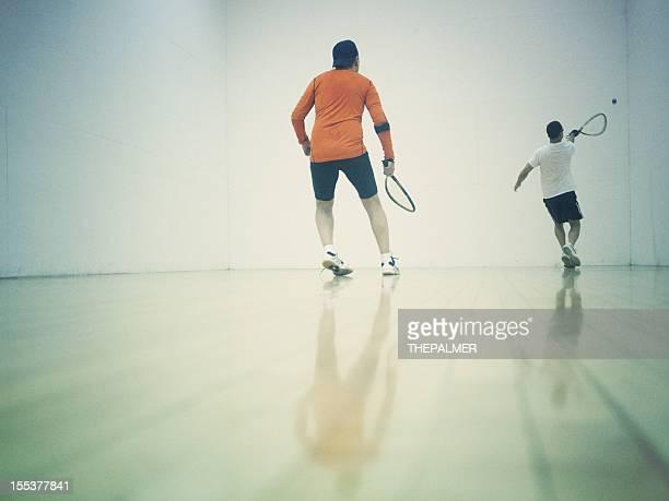 playing Racketball