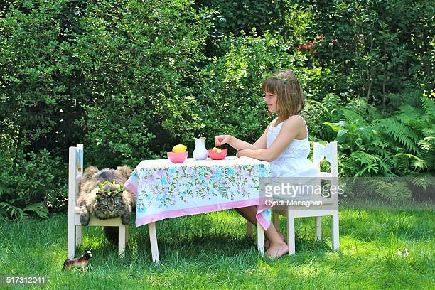 Playing Tea Party