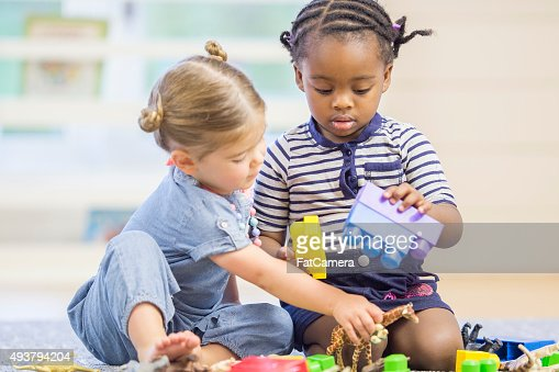 Playing Together at School
