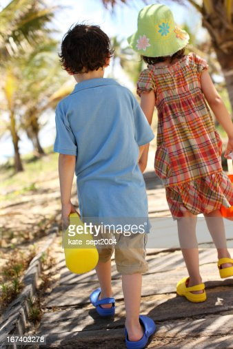 Playing with other kids : Stock Photo