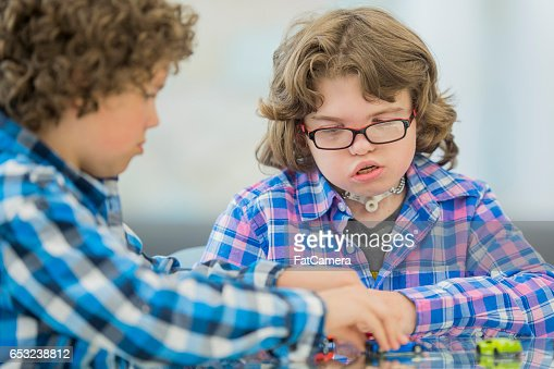 Playing with Toy Cars : Stock Photo