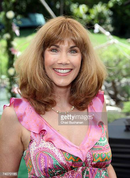 Playmate Barbi Benton attends the 2007 Playmate of the Year party at the Playboy Mansion on May 3 2007 in Los Angeles California