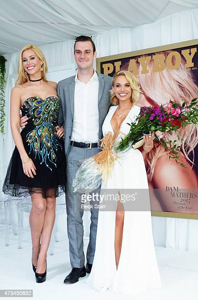 Playmate of the year Kennedy Summers Playboy's Cooper Hefner and 2015 Playmate of the Year Dani Mathers attend Playboy's '2015 Playmate Of The Year'...