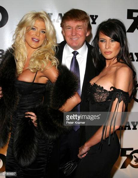 melania trump from playboy parties