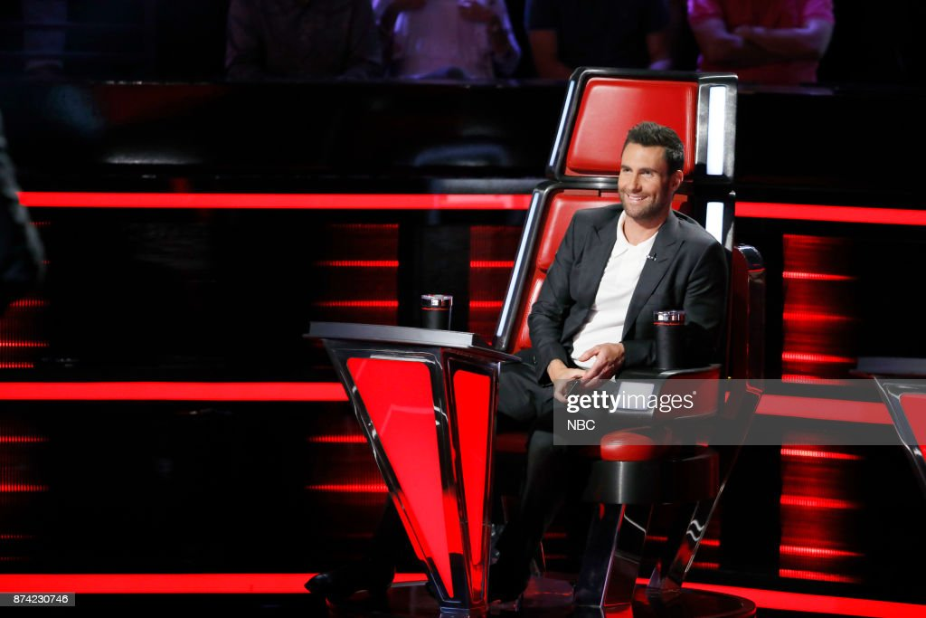 THE VOICE -- 'Playoff Rounds' -- Pictured: Adam Levine --