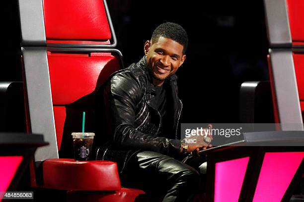 THE VOICE 'Playoffs' Pictured Usher