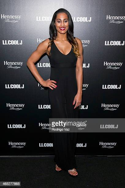 WNBA playr Skylar Diggins attends as LL COOL J hosts a PreGrammy Awards Dinner at The Bazaar at the SLS Hotel Beverly Hills on January 25 2014 in Los...