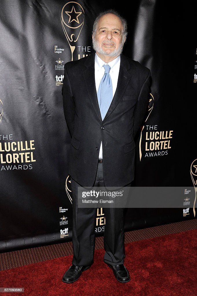 Playwright Alfred Uhry arrives at the 31st Annual Lucille Lortel Awards at NYU Skirball Center on May 1, 2016 in New York City.
