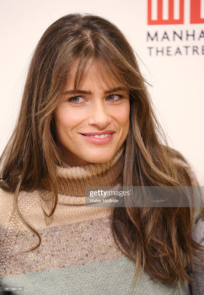 Playwright <a gi-track='captionPersonalityLinkClicked' href=/galleries/search?phrase=Amanda+Peet&family=editorial&specificpeople=201910 ng-click='$event.stopPropagation()'>Amanda Peet</a> attending the Meet & Greet for the MTC Production of 'The Commons of Pensacola' at the Manhattan Theatre Club Rehearsal Studios on September 25, 2013 in New York City.