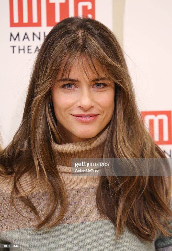 Playwright <a gi-track='captionPersonalityLinkClicked' href=/galleries/search?phrase=Amanda+Peet&family=editorial&specificpeople=201910 ng-click='$event.stopPropagation()'>Amanda Peet</a> attending the Meet & Greet for the MTC Production of 'The Commons of Pensacola' at Manhattan Theatre Club Rehearsal Studios on September 25, 2013 in New York City.
