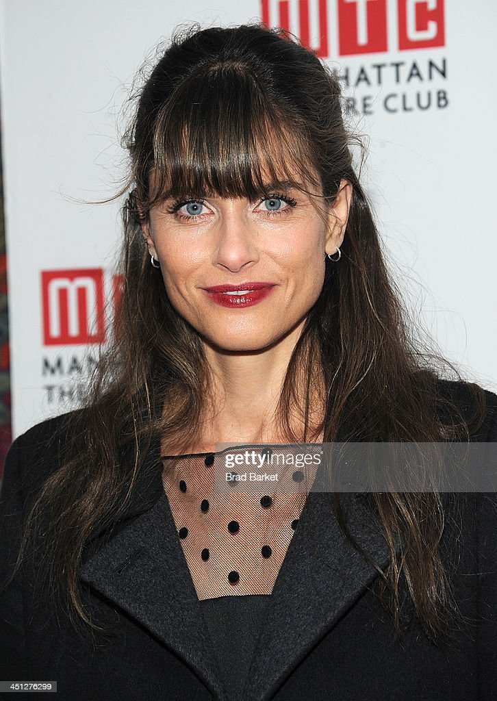 Playwright <a gi-track='captionPersonalityLinkClicked' href=/galleries/search?phrase=Amanda+Peet&family=editorial&specificpeople=201910 ng-click='$event.stopPropagation()'>Amanda Peet</a> attends the 'The Commons Of Pensacola' opening night after party at Brasserie 8 1/2 on November 21, 2013 in New York City.