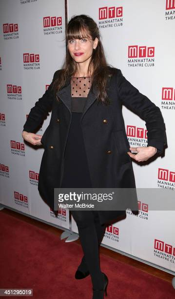 Playwright Amanda Peet attends the 'The Commons Of Pensacola' opening night after party at Brasserie 8 1/2 on November 21 2013 in New York City