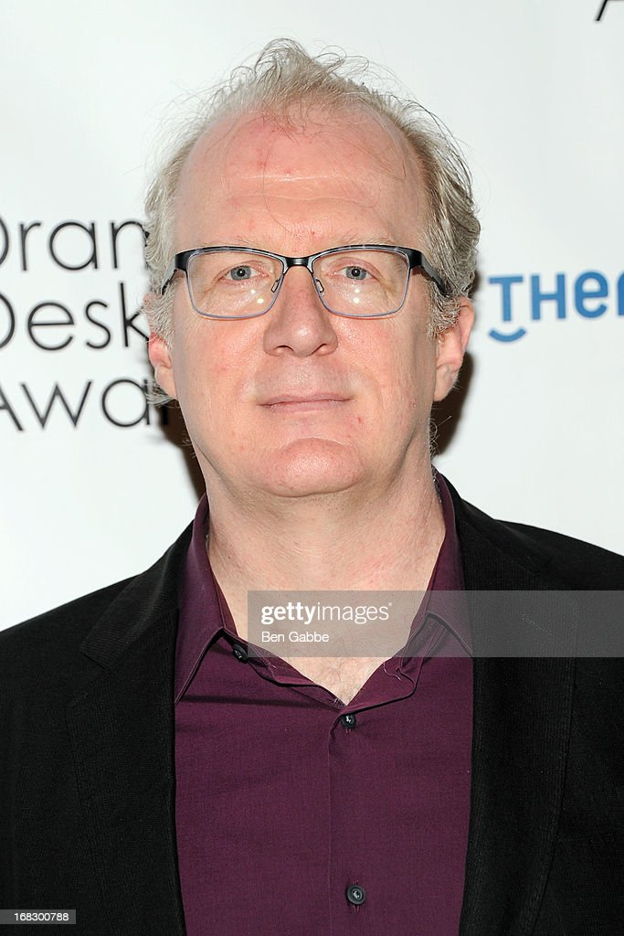 Playwright and actor <a gi-track='captionPersonalityLinkClicked' href=/galleries/search?phrase=Tracy+Letts&family=editorial&specificpeople=4694707 ng-click='$event.stopPropagation()'>Tracy Letts</a> attends The 2013 Drama Desk Nominees Reception at JW Marriott Essex House on May 8, 2013 in New York City.