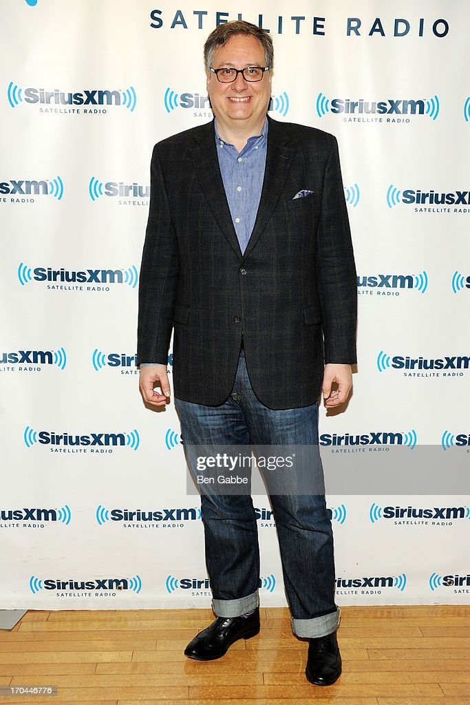 Playwright and screenwriter Douglas Carter Beane visits the SiriusXM Studios on June 13, 2013 in New York City.