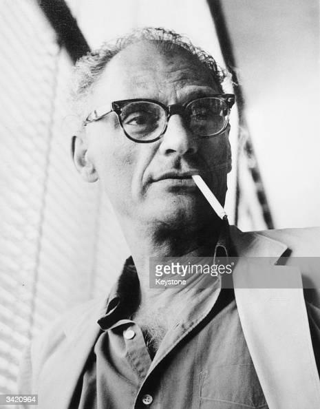 Playwright Arthur Miller in Geneva